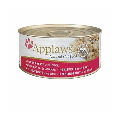 Applaws konzerv csirkemell kacsával 70 g