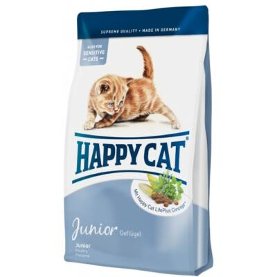 HAPPY CAT Fit & Well Junior baromfi 300 g