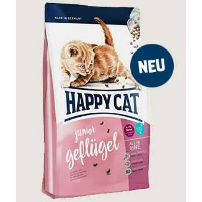 HAPPY CAT Fit & Well Junior baromfi 300 g