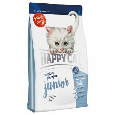 HAPPY CAT Sensitive Junior gabonamentes 300 g