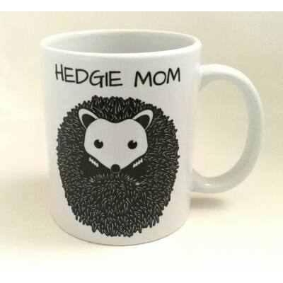 "Sünös bögre - ""HEDGIE MOM"""