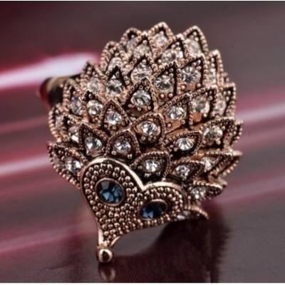 Sünös gyűrű óarany