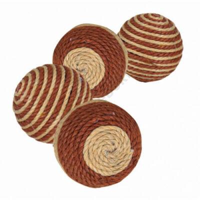 Natúr színű szizál labda