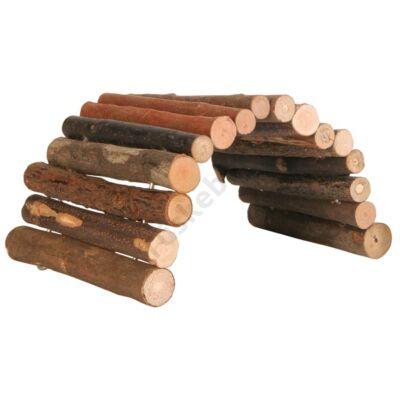 Hajlítható fahíd, odú M 28x17 cm