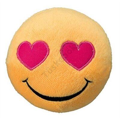 Szivecskés Smiley plüssjáték