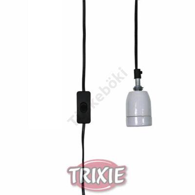 Trixie kerámia foglalat kábellel, kapcsolóval