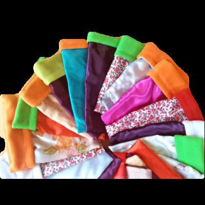 Meleg bújózsák törpesünnek vegyes színekben