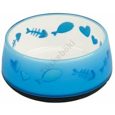 Kék tál 300 ml halas